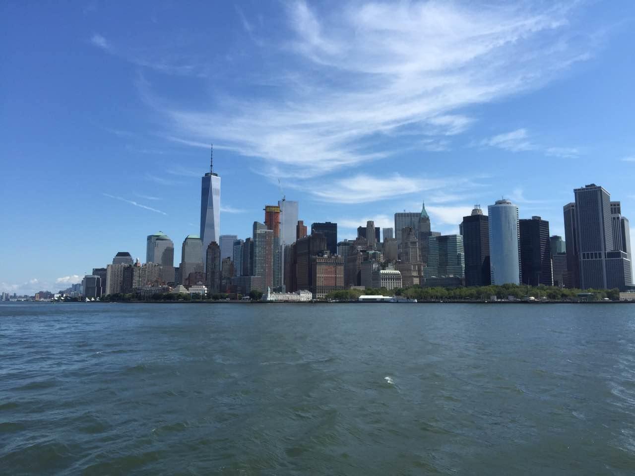 纽约旧地重游 — 刘以栋随笔
