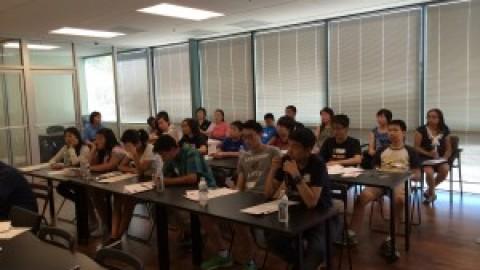 APAPA Tri-Valley 第一届高中生选民登记义工培训记实