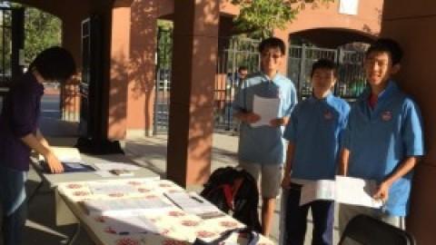 熟悉中的新鲜 ——- 记APAPA 10月11日选民登记活动