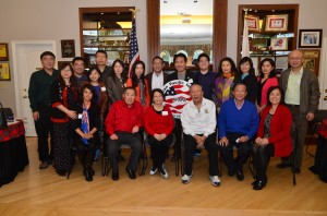 亚太公共事务联盟(APAPA)旧金山湾区三谷分会终生会员2015年节日聚会纪实