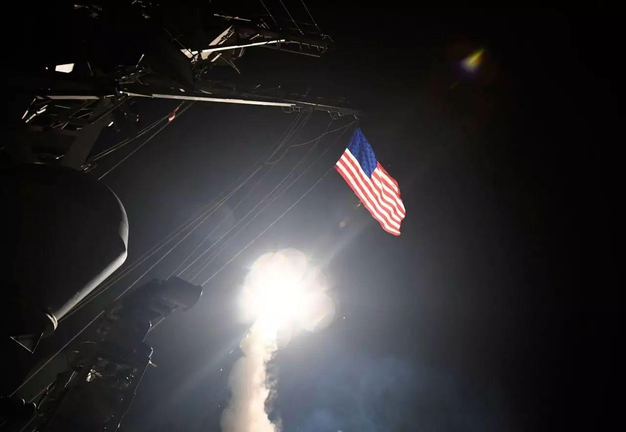 川普轰炸叙利亚的背后