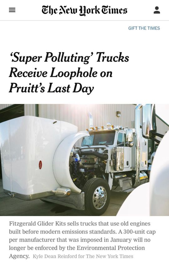 环保局长临下台还埋祸种,它与你我的健康甚至生死息息相关