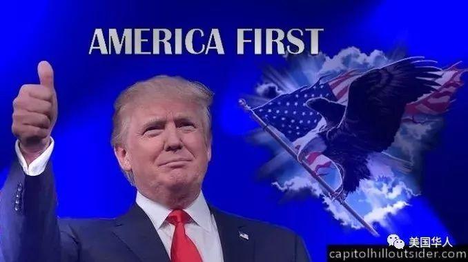 """""""美国第一"""", 特朗普第二"""