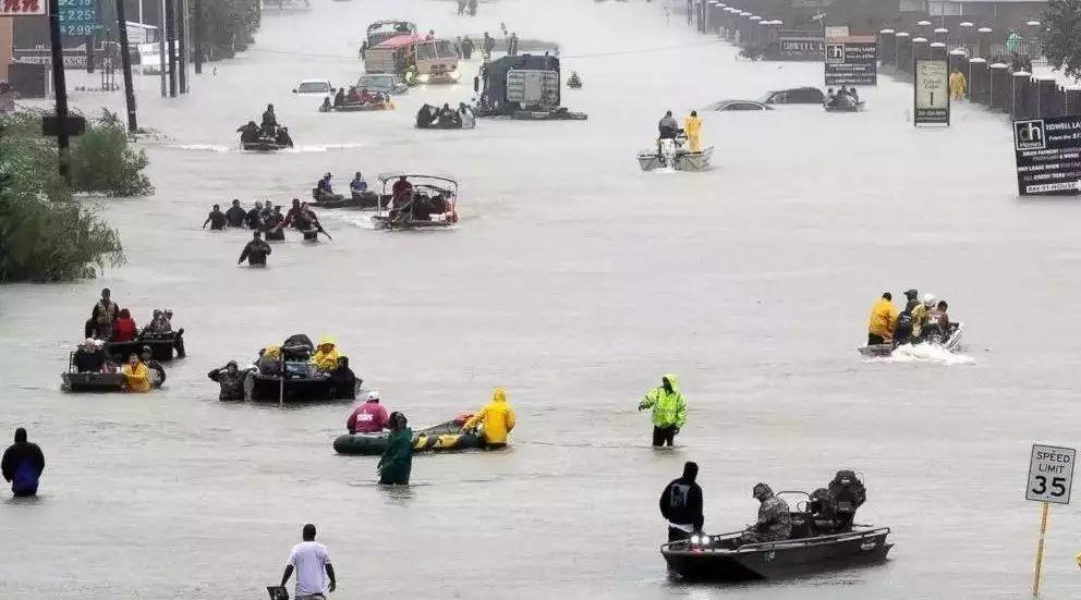 紧急:德州超级大洪水,华人加入自救队伍,附联络名单