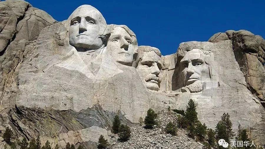 川普成为美国最伟大总统,总统山下一个雕像就他了?