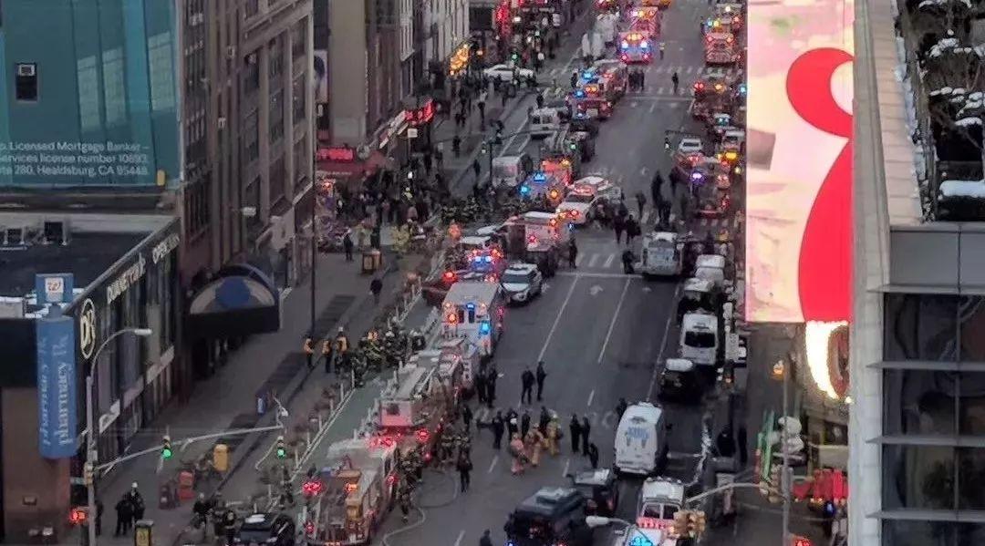 图姐 | 突发!纽约时代广场附近地铁站内自杀式恐袭!