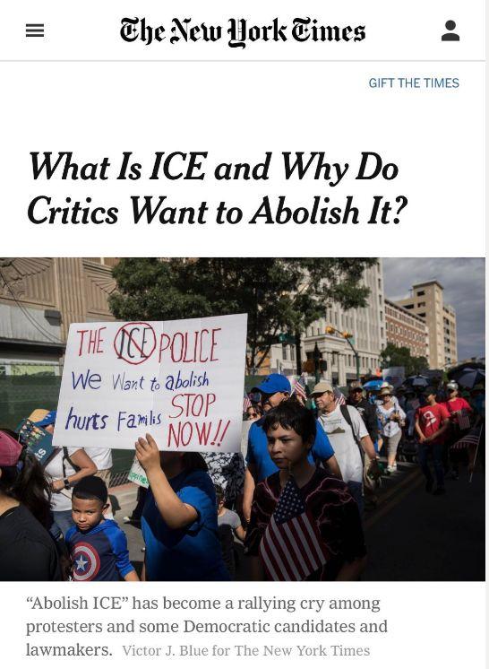 """""""废除移民局""""!民主党真的疯了吗?背后真相究竟是什么?"""