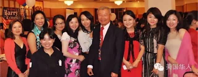 9月7日Barry Chang筹款晚宴上大放异彩的嘻哈婉约妖精群