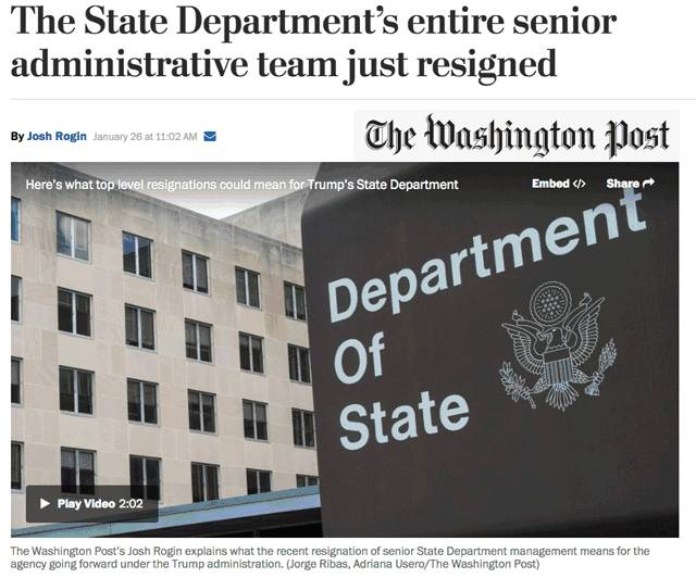 图姐 |  墨西哥总统取消访美/国务院高官集体辞职/前国务卿要做穆斯林