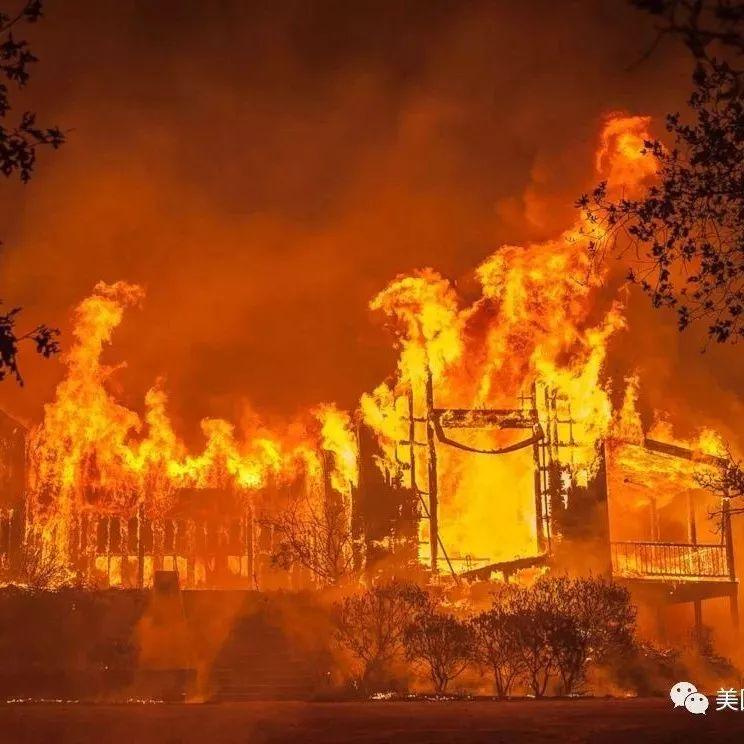 山火、飓风、全球气候变化和人类活动