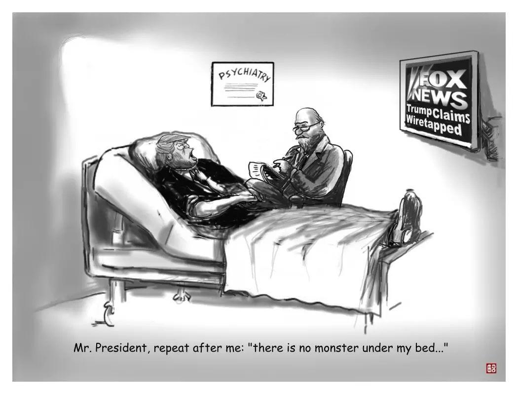图姐 | 奥巴马窃听川普,周一揭开谜底?/司法部大清洗46名检察官被辞职/紧急!医生最担忧的超级真菌病例在美被报告