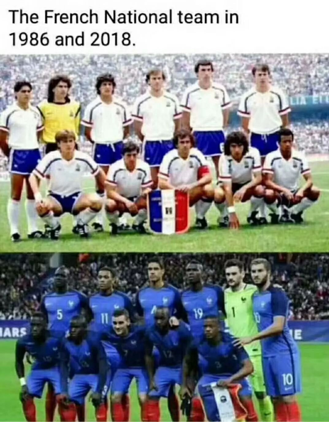 世界杯夺冠的是法国队还是一支非洲球队?