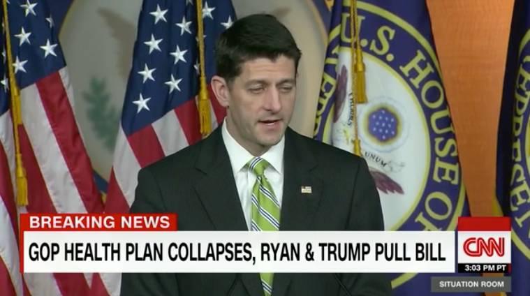北大飞:长达八年的大骗局落幕,共和党突然撤回其医保法案