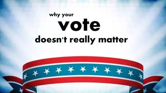 美国大选何以变成少数人的游戏