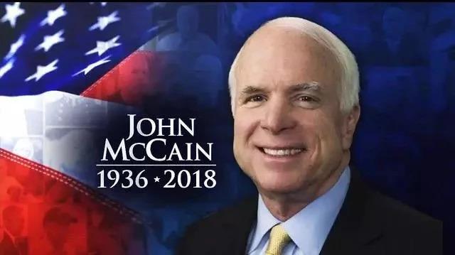 美国将为麦凯恩举行国葬 他将长眠于海军学院