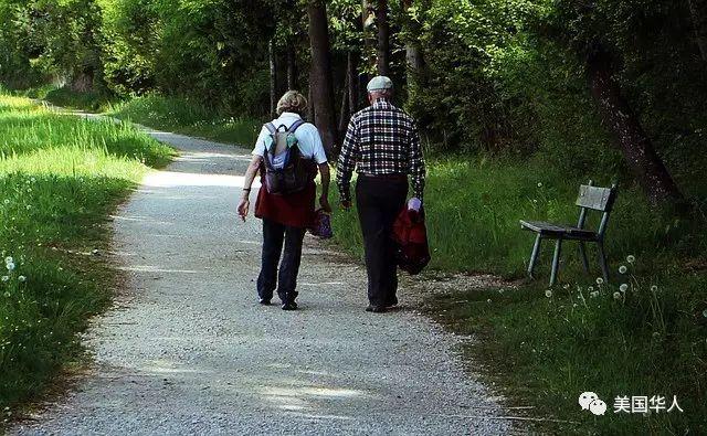【留学美国】美国爷爷和奶奶