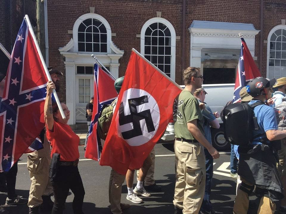 白人至上主义的纳粹还魂