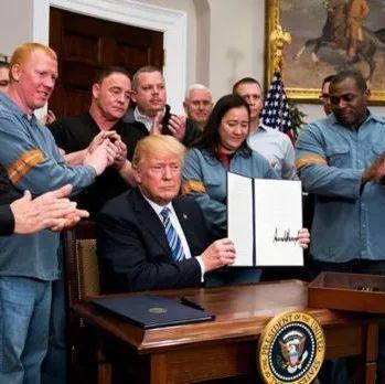 贸易战打响!特朗普正式签署钢铁和铝进口关税令