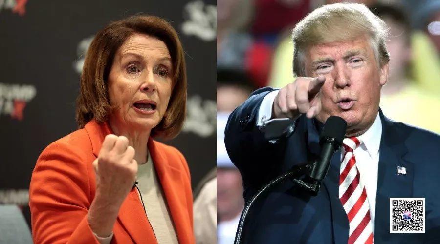 特朗普和佩洛西针尖对麦芒,政府重开遥遥无期 | 图姐