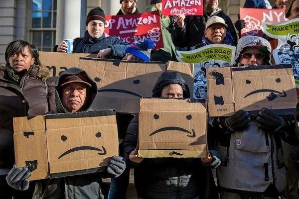 亚马逊逃离纽约,数万工作岗位泡汤,为什么人们却在欢呼?