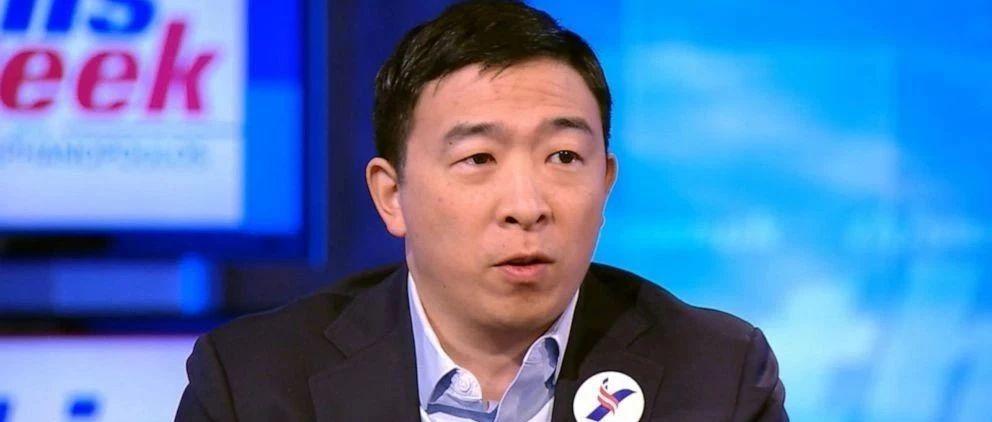 为什么总统候选人杨安泽要给每个美国人发1000美元?