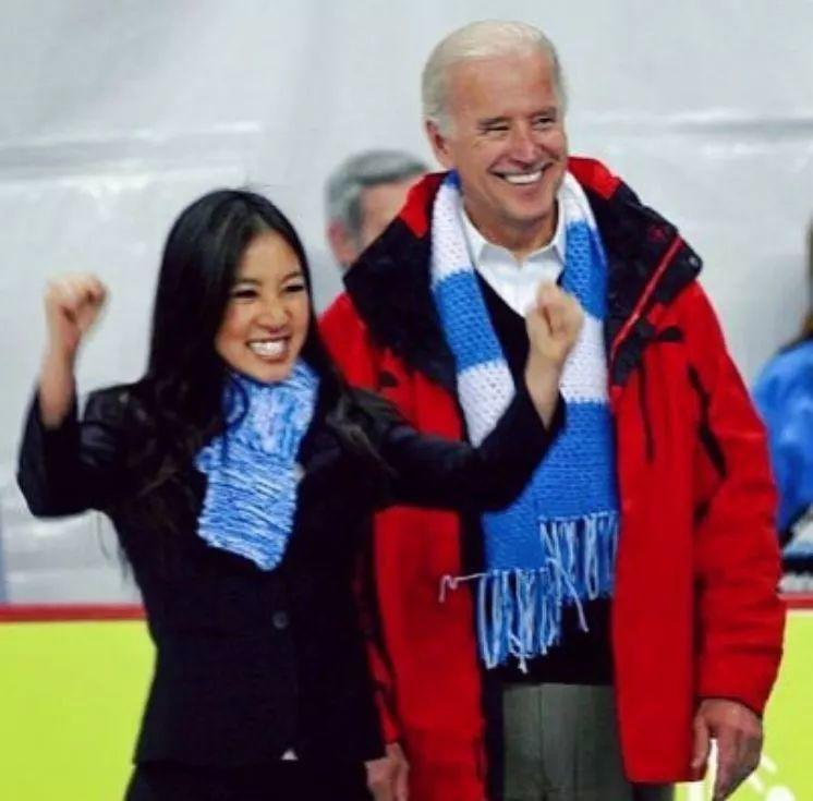美国华裔冰上明星关颖珊加盟拜登2020竞选团队