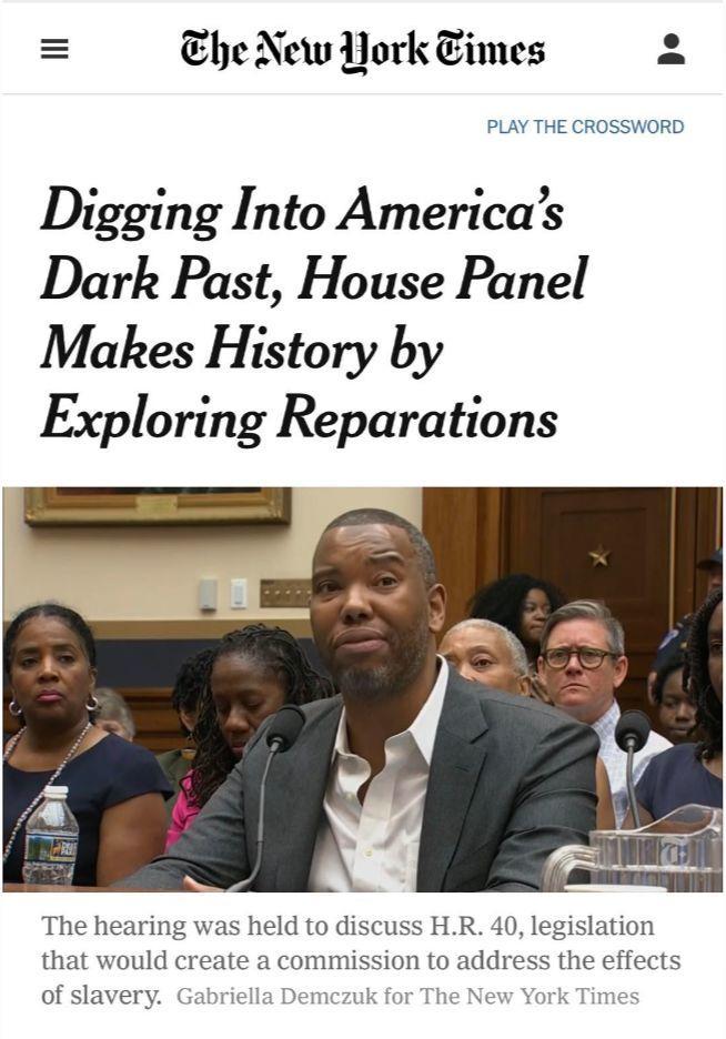 美國黑暗的奴隸史,該不該賠償、道歉——美國黑人曆史特寫(一)
