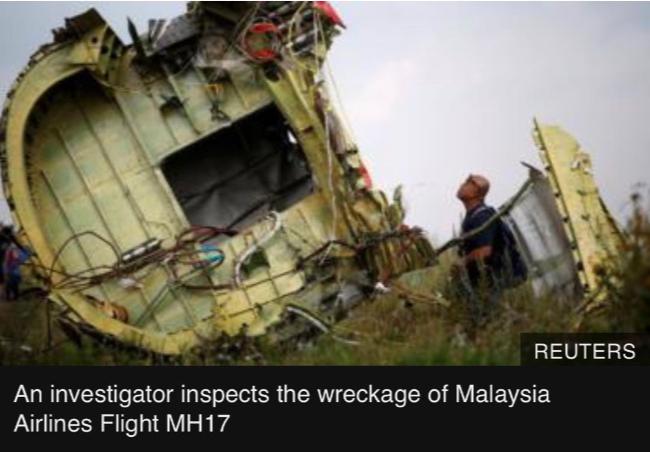 被击落马航17调查提出指控:是俄罗斯和乌克兰人所为