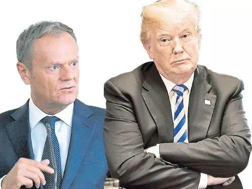 """常与特朗普开怼的""""欧盟总统""""——图斯克的告别绝唱"""