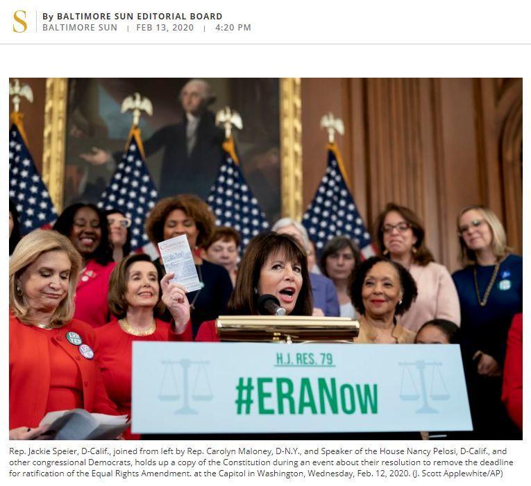在美国男女平等受到宪法保护吗?答案可能让你大跌眼镜