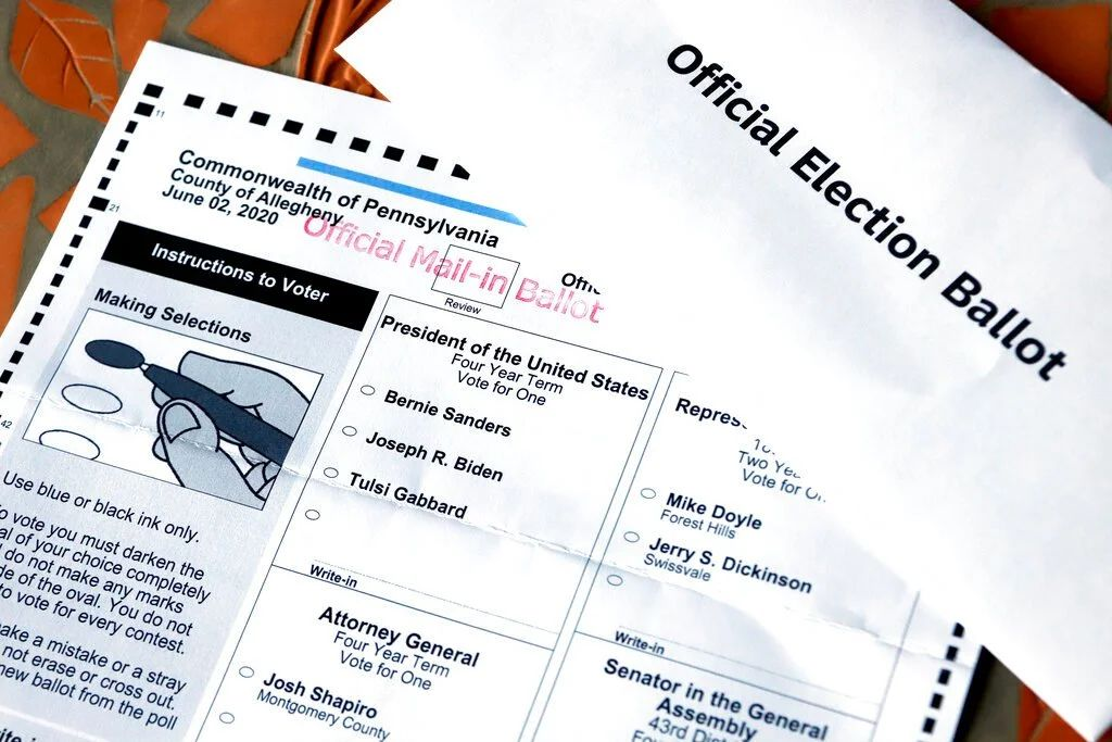US Mail-in Ballot  Instruction