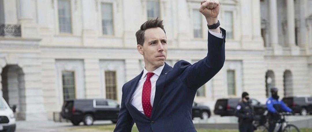 """""""明日之星""""挥拳示威,霍利参议员的政治野心和共和党的未来"""