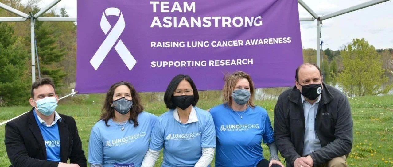 女性死亡第一杀手是肺癌!华裔女士抗病魔带领波士顿华人行动起来